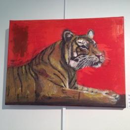 olja/ akryl 40x29,5 cm