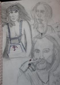 teckning a4